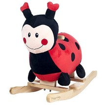 Rocking Toys Lucy Ladybug Ride On Toy For Kids Toddlers Birthday Christm... - $65.65