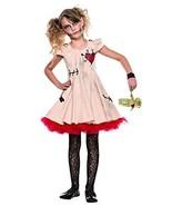 40101 (Kids Medium) Girls Voodoo Doll Dress Kids Zombie Dress - $45.88