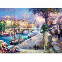 PaintingStyle RA3371 CHUNXIA Framed DIY Painting By Numbers City Landsca... - $7.53