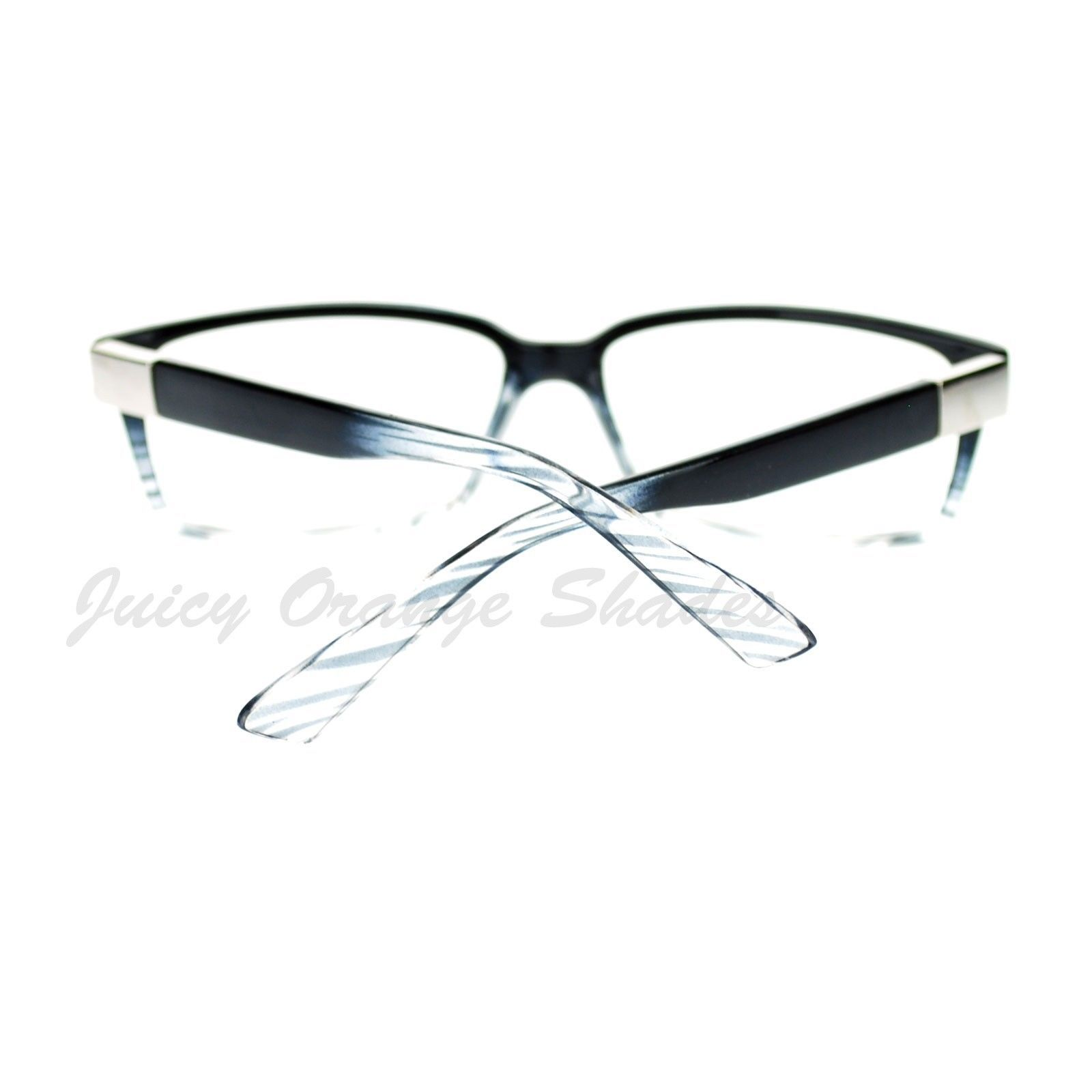 Designer Fashion Clear Lens Eyeglasses Classic Rectangular Glasses
