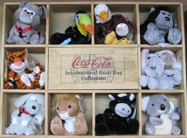 Coca-Cola10 different Bean Bag International Collection - Set 1 - NEW - $89.05