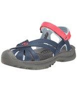 Keen Youth Kids Girls Rose Sandal Midnight/Honeysuckle Sandals Size 1  - $64.99