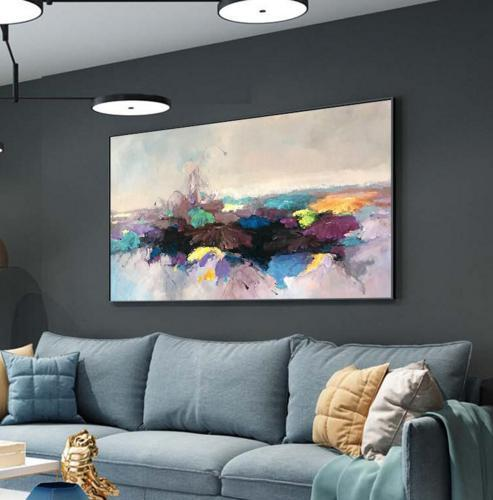 Contemporary hand painted abstract art picture oil painting ab 000073