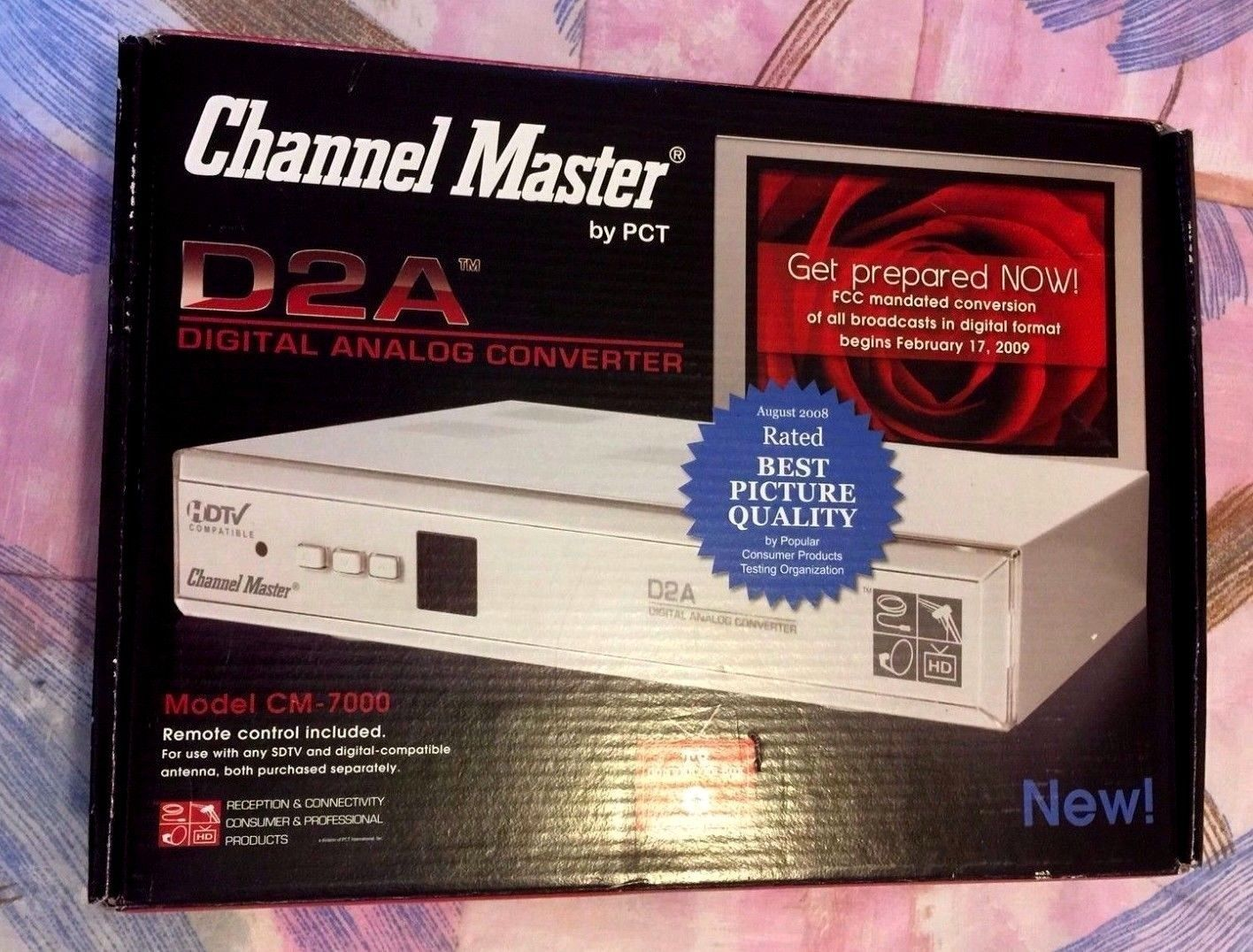 Primary image for Channel Master PCT D2A Digital to Analog TV Converter CM-7000  in the  Box