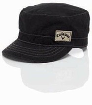 New Ladies Callaway Military Golf Cap. Black. - $12.14