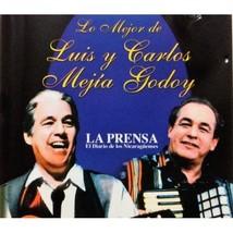 Luis y Carlos Mejia Godoy Lo Mejor CD - $4.95