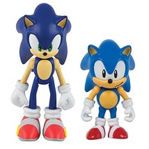 TOMY Sonic Collector Series 2 Figure Pack with Comic, Classic Sonic & Mo... - $25.58