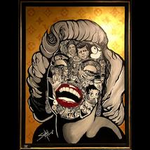 Marilyn by Sal (30x40 giclee print on canvas) - $310.00