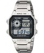 Casio Men's AE1200WHD-1A Stainless Steel Digital Watch - £43.63 GBP