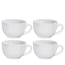 Jumbo Soup Bowl and Cereal Mugs Wide Ceramic Mug Set of 4, 24 Ounce, By ... - $26.88