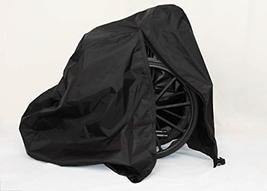 Diestco Manual Wheelchair Cover Accessory Durable Black Lightweight Nylon - $93.64