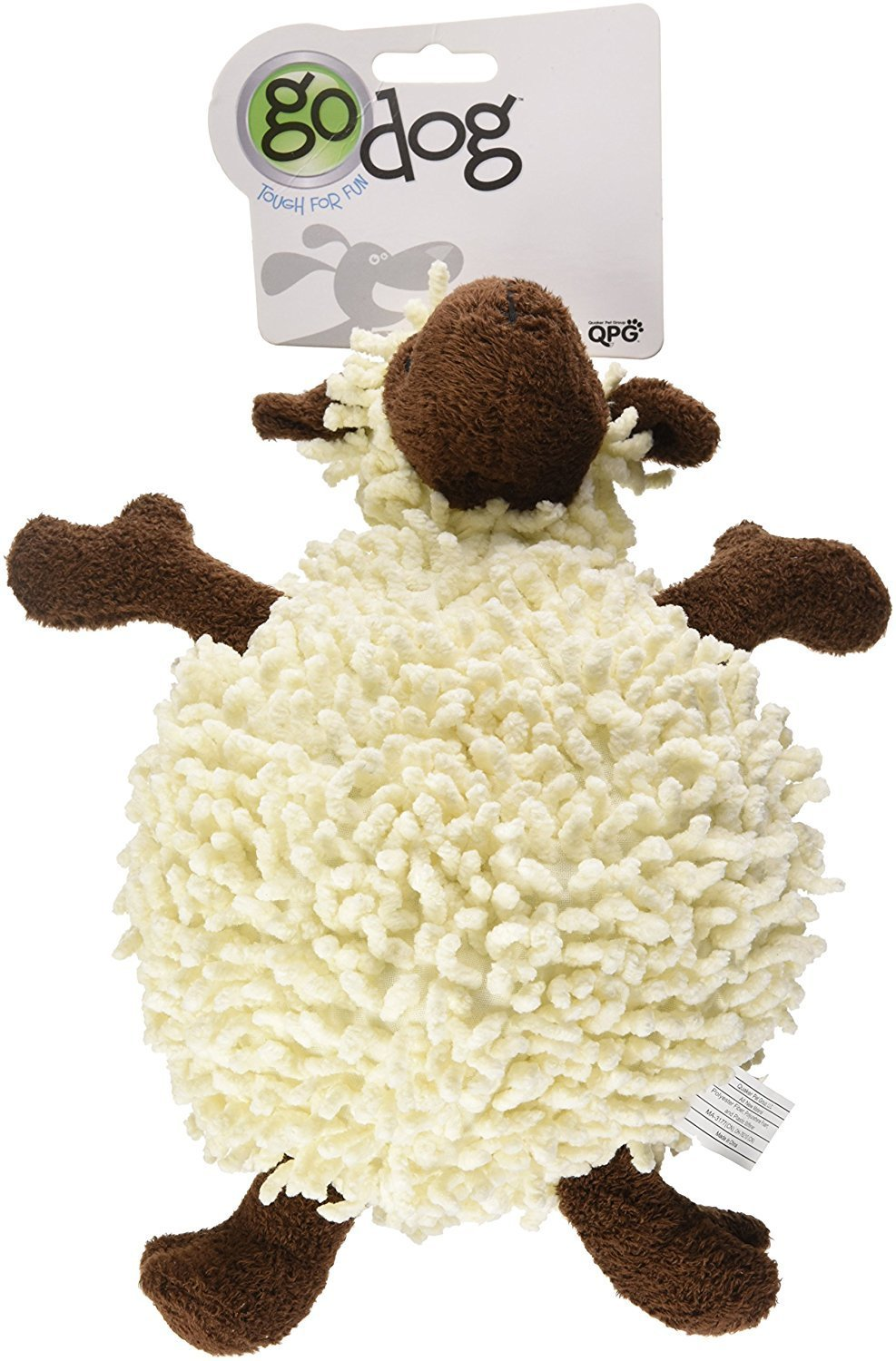 Dog Toys For Dogs, Fuzzy Wuzzy Sheep Tough Squeaky Cute Stuffed Dog Chew Toy