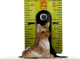 Hagen Renaker Miniature Wildlife Fox Family Mama, Papa & Baby 3 Piece Set image 2