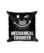 Mechanical Engineering pillow - Square Pillow Case w/ stuffing - $23.00