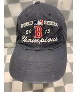 Boston RED SOX World Series Champions 2013 Adjustable Adult Cap Hat - $14.71