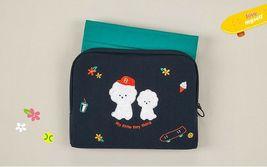 AntenaShop Boucle Bichon iPad Tablet Sleeve Pouch Bag Cover Case Korean Design image 5