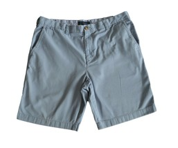 Tommy Hilfiger Mens Casual Shorts Size 38 Solid Light Blue Chino Academy... - $12.99