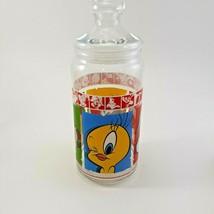 1999 Warner Brothers Looney Tunes Merrie Medleys Glass Cookie Jar image 2
