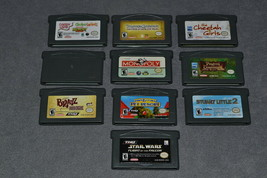 Nintendo Game Boy Advance: 10 Game Lot - $22.00