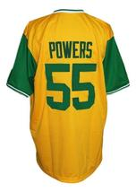 Kenny Powers #55 Charros Eastbound And Down Tv Baseball Jersey Yellow Any Size image 2