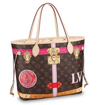 LOUIS VUITTON LV Tote Bag & Pouch Neverfull MM Monogram Brown Woman Auth... - ₹218,310.96 INR