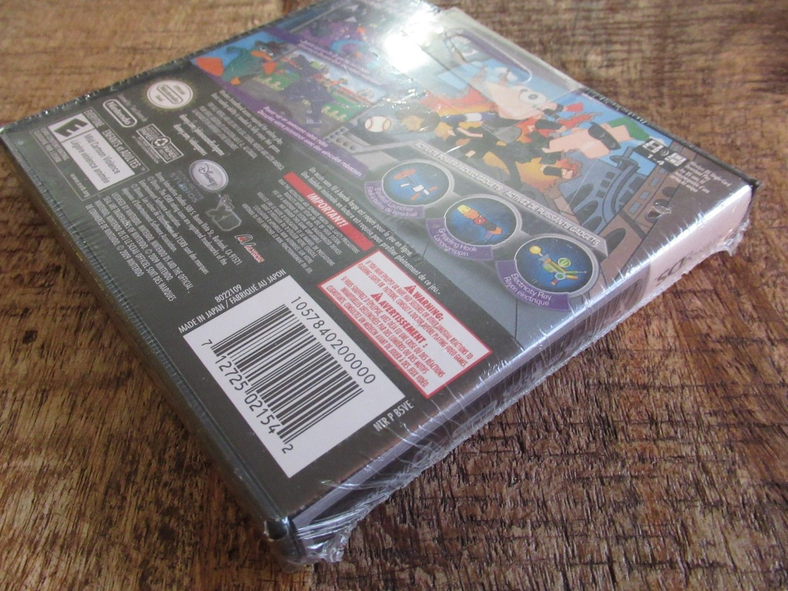 Phineas and Ferb: Across the 2nd Dimension (Nintendo DS, 2011) Sealed image 4