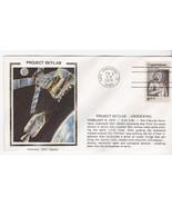 PROJECT SKYLAB UNDOCKING CAPE CANAVERAL FL FEB 8 1974 COLORANO SILK - $2.98
