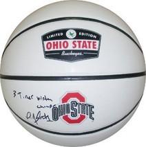 Deshaun Thomas signed Ohio State Buckeyes Rawlings Logo Basketball 3 Tim... - $52.95