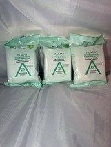 3 pks Almay Clear Complexion Bio.Makeup Remover Cleansing Towelettes 25ct - $14.01