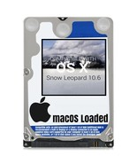 macOS Mac OS X 10.6 Snow Leopard Preloaded on Sata HDD - $12.99+