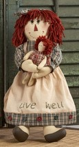 Primitive Doll  40884- Rag Doll Live Well - $18.95