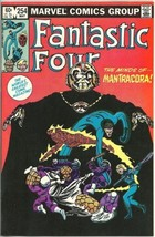 Fantastic Four Comic Book #254 Marvel Comics 1983 NEAR MINT NEW UNREAD - $5.94