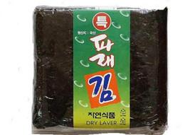 Korean Parae Seaweed Dried Laver KOREA FOOD sushi gimbab nori 100 sheets image 1