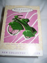 Hallmark Keepsake Ornament 1935 Steelcraft Streamline Velocipede by Murray - $10.88