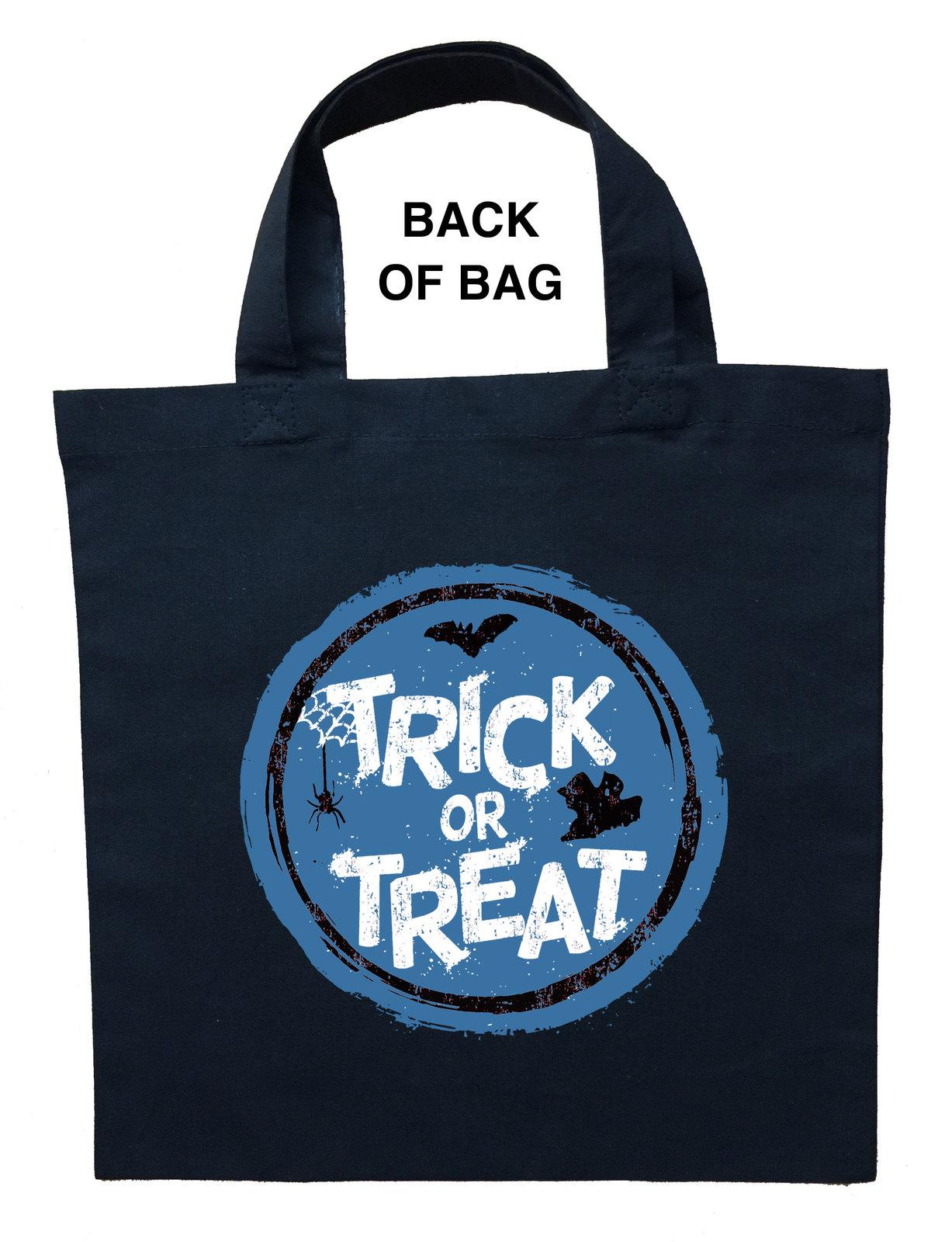 Blue Dragon Trick or Treat Bag, Blue Dragon Halloween Bag, Blue Dragon Loot Bag