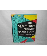 The New Yorker Album of Sports and Games 1958 Cartoons Book - $19.27