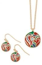 Avon's Jump for Joy Necklace & Earrings - NIB - $9.99