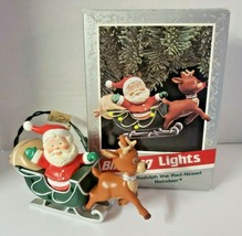 Hallmark 1989 Christmas Ornament Membership Rudolph the Red Nosed Reindeer - $38.99