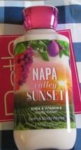 Bath & Body Works Napa Valley Sunset Lotion 8 fl.oz./236ml **New** - $10.84