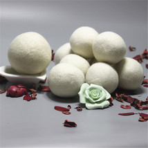 6pieces with cloth bag Laundry Sheep Wool Dryer Balls Laundry Balls & Discs - $7.01