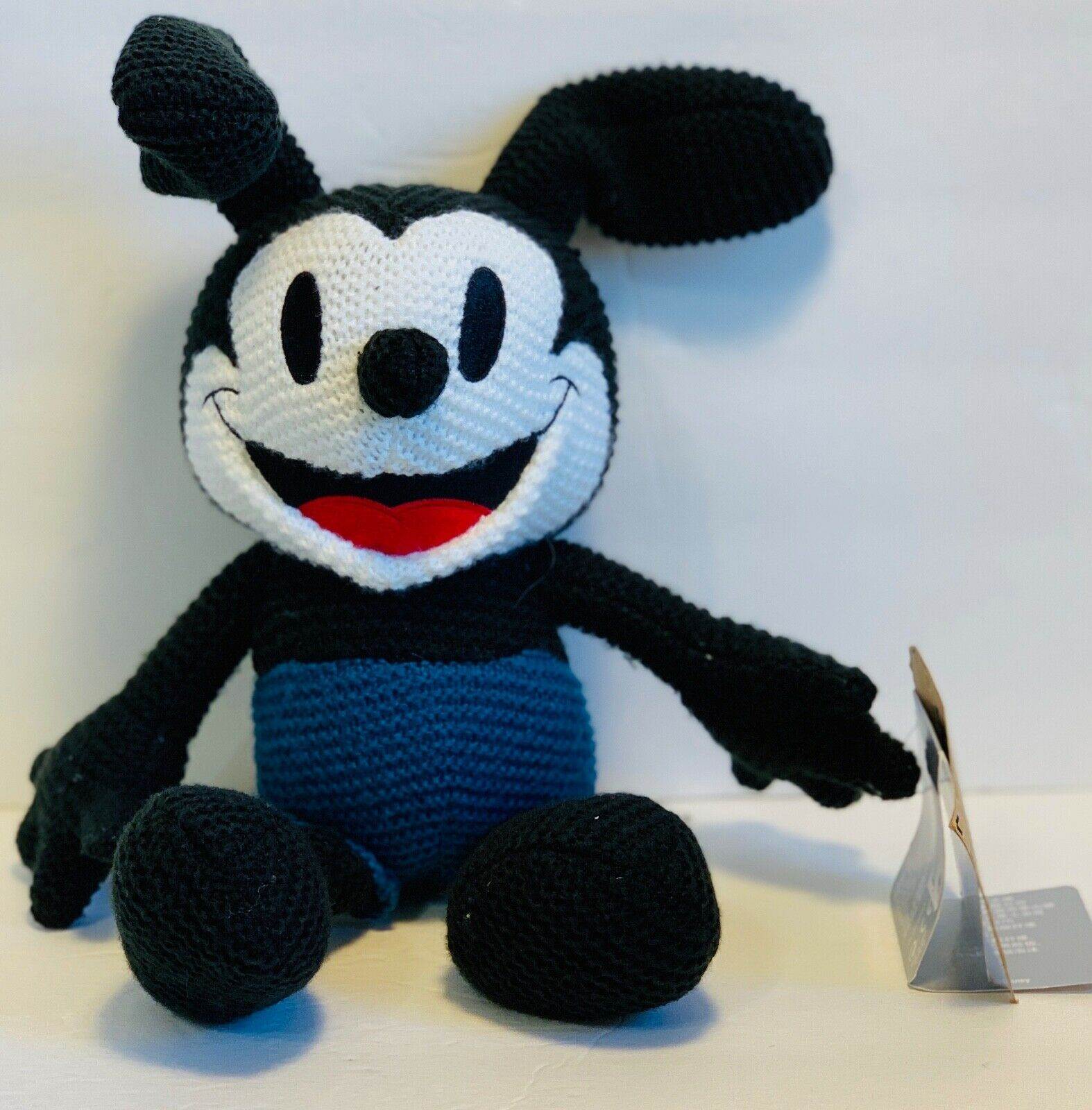 "Primary image for Disney Parks Exclusive Oswald the Lucky Rabbit Classic Cozy Knit 11"" Plush New"