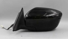 16 17 NISSAN ROGUE LEFT DRIVER SIDE BLACK POWER DOOR MIRROR OEM - $128.69