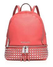 NEW! MICHAEL KORS Rhea Small Studded Backpack - $326.58