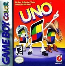 Uno (Nintendo Game Boy Color, 1999) - $4.53
