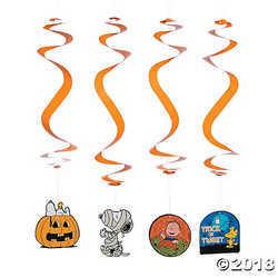 Peanuts Halloween Hanging Swirls
