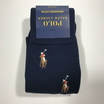 Polo Ralph Lauren All Over Pony Embroidered Sock.Navy.Nwt.MSRP.$16.00 - $14.90