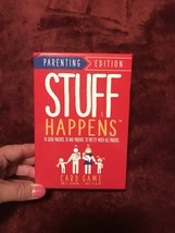 Stuff Happens Card Game Parenting Edition - New Family Fun Game! - $9.49
