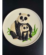 Goebel Pandas Mothers Plate 1977 in Box FREE SHIP - $22.50