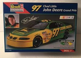 Revell Monogram 1:24 #97 Chad Little John Deere Grand Prix NASCAR Kit #85-2492U - $14.99