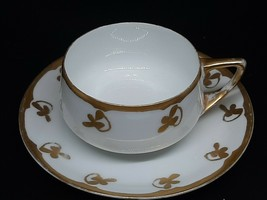 "Rosenthal Selb Bavarian  Donatello teacup/saucer slight gold loss 1.75"" ... - $35.00"